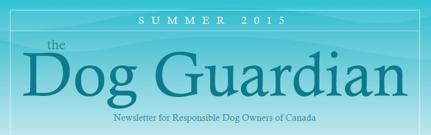 The Dog Guardian - Summer 2015