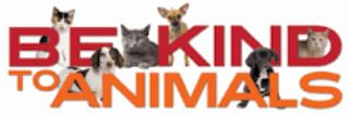 clipart: Be Kind to Animals